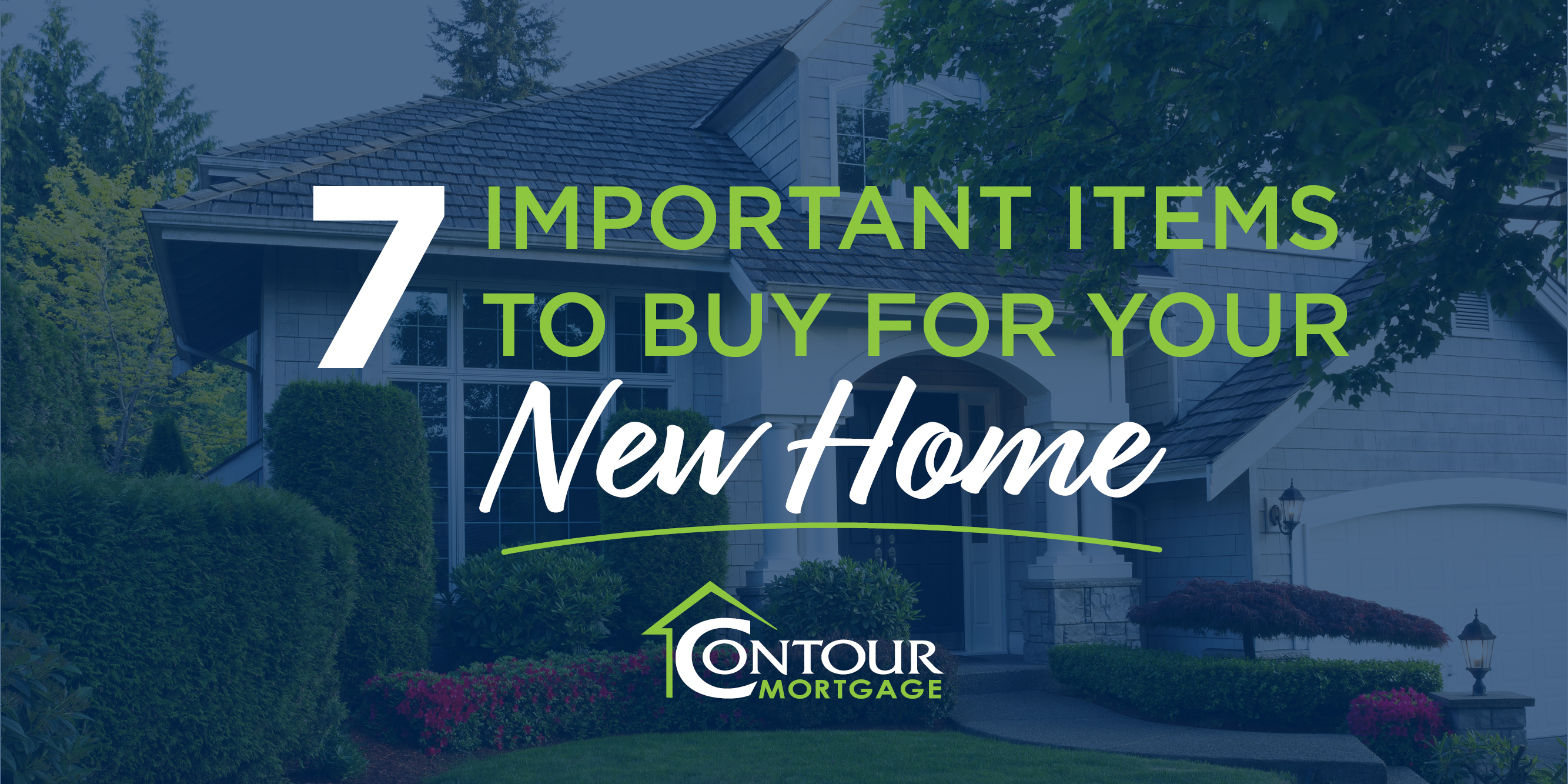 Blog Post - 7 Imporant items to buy for your new home