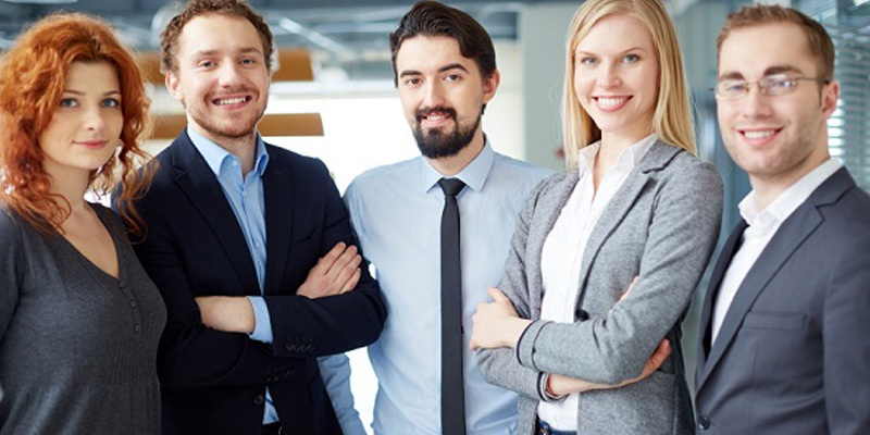 Team of Business Professionals ready to help