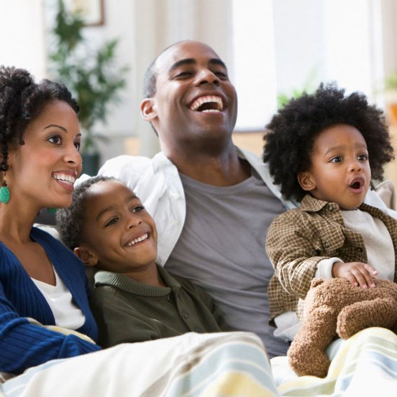 happy-black-family