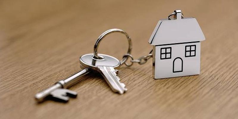 Keys with House Keychain